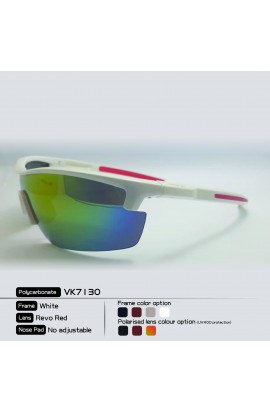 LOOPES 7130 WHITE mirror red