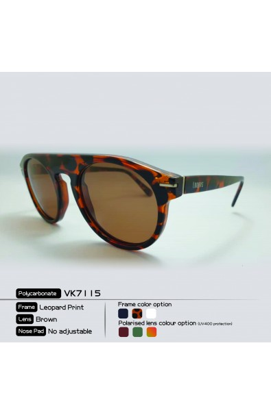 LOOPES 7115 LEOPARD PRINT brown