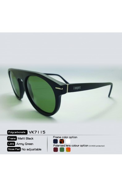 LOOPES 7115 LEOPARD PRINT army green
