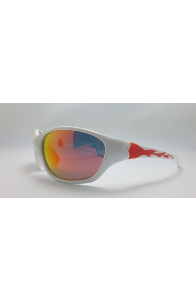 LOOPES 7002 WHITE mirror red
