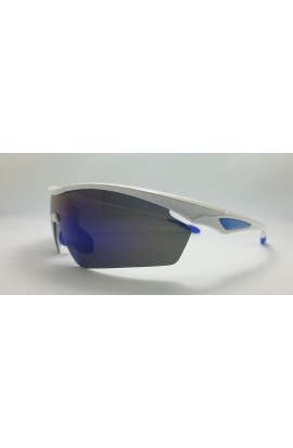 LOOPES VK 7156 WHITE mirror blue