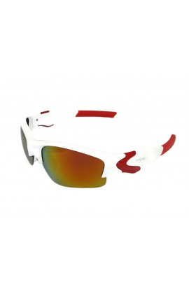 LOOPES 7163 WHITE mirror red